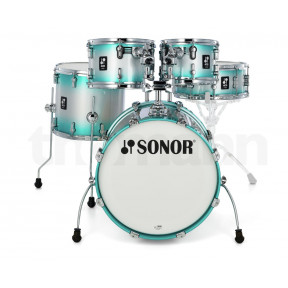 SONOR AQ2 Aqua Silver Burst Studio Shell Set