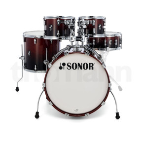 SONOR AQ2 Brown Fade Studio Shell Set