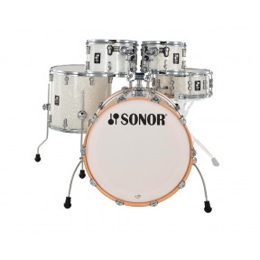 SONOR AQ2 White Pearl Studio Shell Set