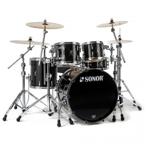 SONOR Prolite Stage 2 Brilliant Black Shell Set