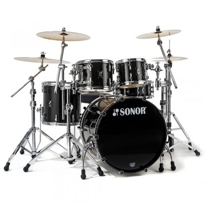 SONOR Prolite Stage 3 Brilliant Black Shell Set