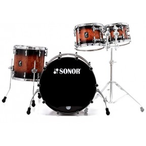 SONOR Prolite Stage 3 Walnut Brown Burst Shell Set