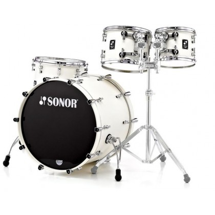 SONOR Prolite Stage 3 Creme White Shell Set