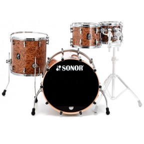 SONOR Prolite Studio Chocolate Burl Shell Set