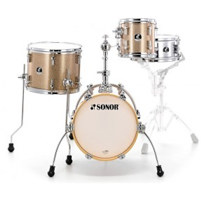 SONOR Martini Gold Sparkle Shell Set