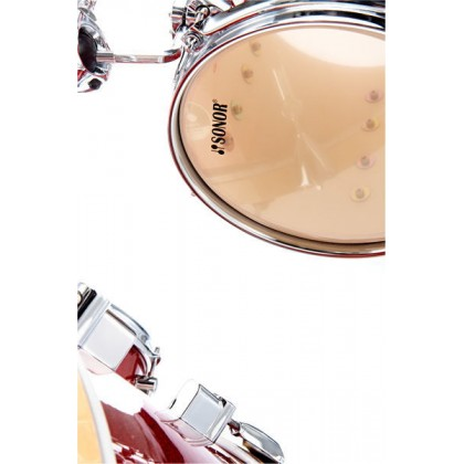 SONOR Martini Red Galaxy Sparkle Shell Set