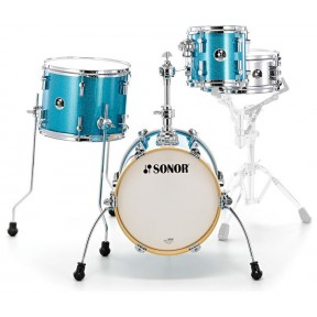 SONOR Martini Turquoise Sparkle Shell Set