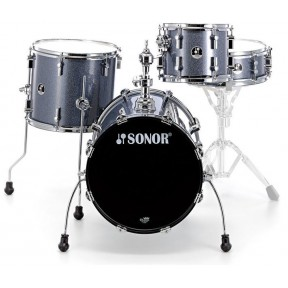 SONOR Safari Black Sparkle Shell Set