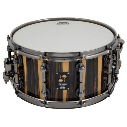 """SONOR One Of A Kind Snare Drum White Ebony 14x7"""""""
