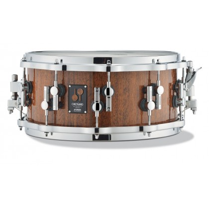 SONOR One Of A Kind Snare Drum Red Tigerwood 14x6.25""