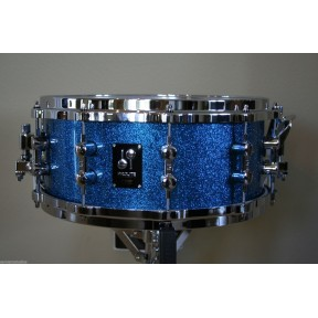 "SONOR Prolite Snare Drum Blue Sparkle 14x6"" w/die-cast"