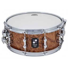 "SONOR Prolite Snare Drum Chocolate Burl 14x6"" w\die-cast"