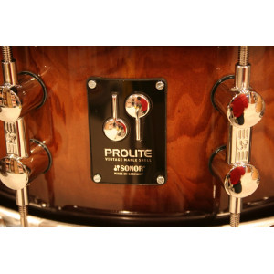 SONOR Prolite Snare Drum Walnut Brown Burst 14x6""