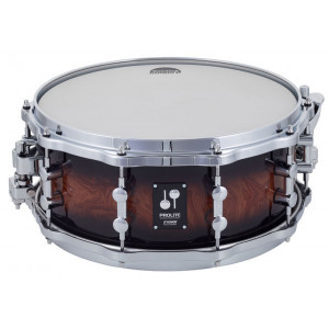 "SONOR Prolite Snare Drum Walnut Brown Burst 14x6"" w/die-cast"