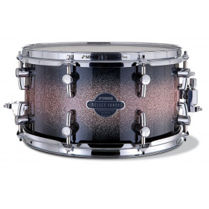 """SONOR Select Force Snare Drum Brown Galaxy Sparkle 13x7"""""""