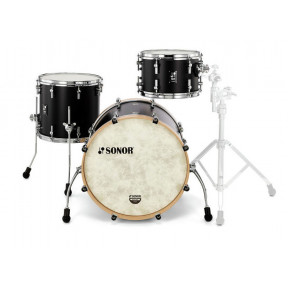 SONOR SQ1 GT Black Studio Shell Set