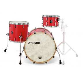 SONOR SQ1 Hot Rod Red Studio Shell Set